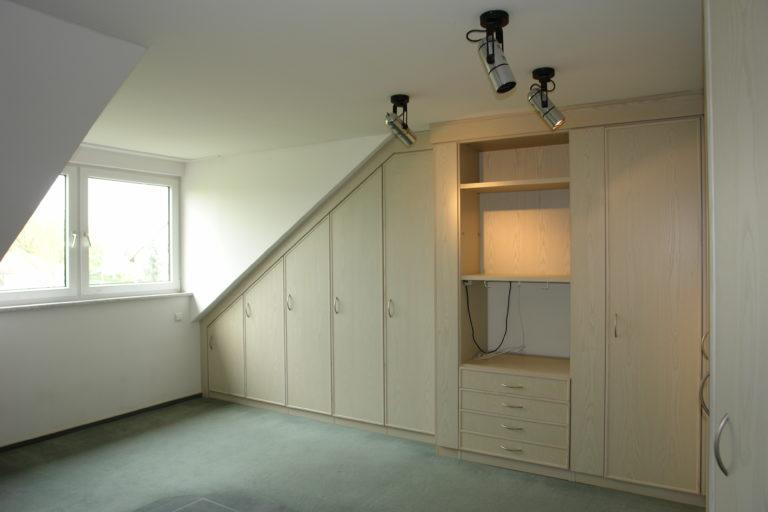 Blick in eines der beiden Schlafzimmer
