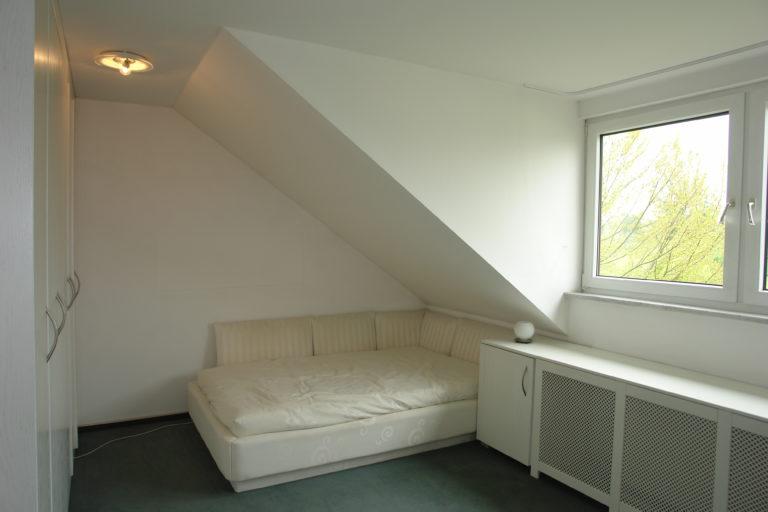 Ansicht des zweiten Schlafzimmers