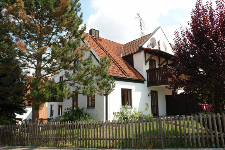 Südwestansicht des Hauses