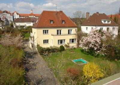 Stadthaus in der Deutingerstraße